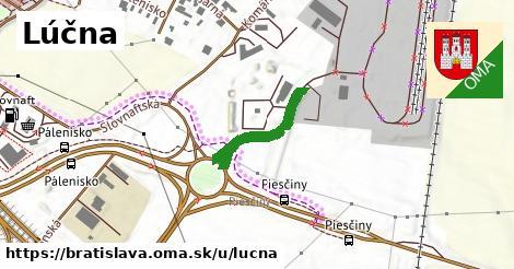 ilustrácia k Lúčna, Bratislava - 553m