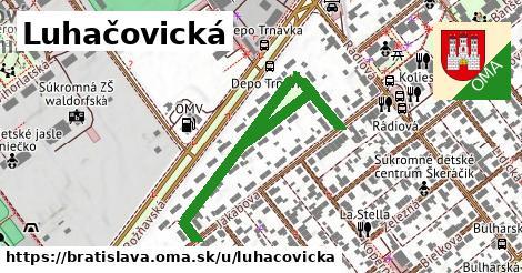 ilustračný obrázok k Luhačovická, Bratislava