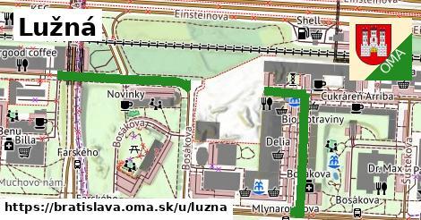 ilustračný obrázok k Lužná, Bratislava
