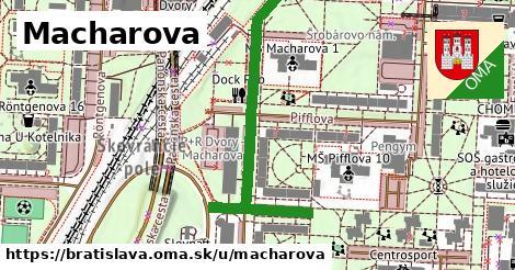 ilustračný obrázok k Macharova, Bratislava