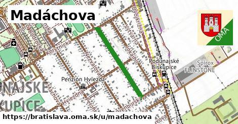 ilustrácia k Madáchova, Bratislava - 524m