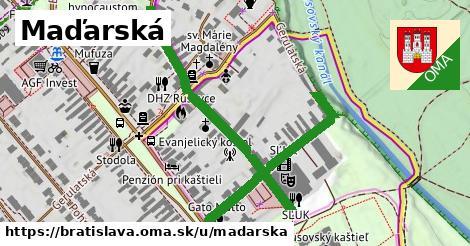 ilustrácia k Maďarská, Bratislava - 0,78km