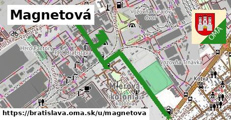 ilustrácia k Magnetová, Bratislava - 1,10km