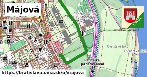 ilustračný obrázok k Májová, Bratislava