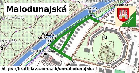 ilustračný obrázok k Malodunajská, Bratislava