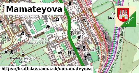 ilustračný obrázok k Mamateyova, Bratislava