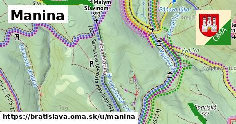 ilustrácia k Manina, Bratislava - 5,2km