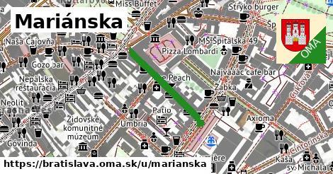 ilustrácia k Mariánska, Bratislava - 235m
