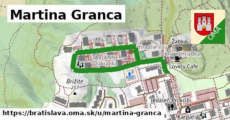 ilustračný obrázok k Martina Granca, Bratislava