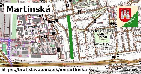 ilustrácia k Martinská, Bratislava - 465m