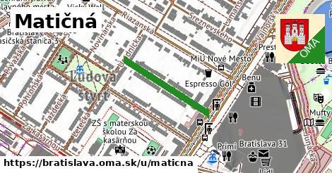 ilustrácia k Matičná, Bratislava - 229m