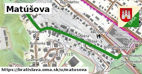 ilustrácia k Matúšova, Bratislava - 472m