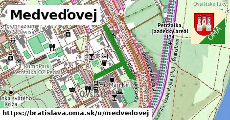 ilustračný obrázok k Medveďovej, Bratislava