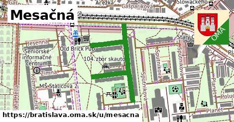 ilustračný obrázok k Mesačná, Bratislava