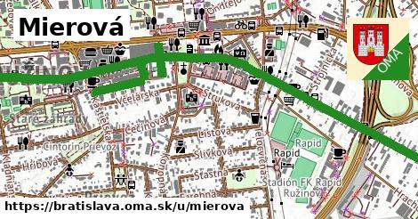 ilustrácia k Mierová, Bratislava - 3,5km