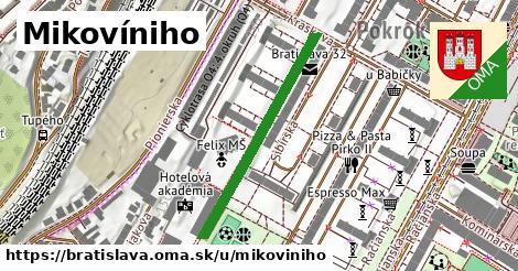 ilustrácia k Mikovíniho, Bratislava - 338m