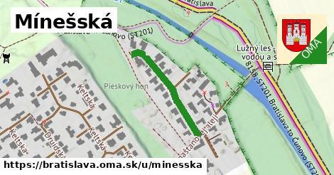 ilustračný obrázok k Mínešská, Bratislava