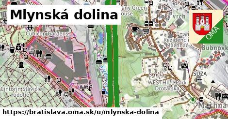 ilustračný obrázok k Mlynská dolina, Bratislava
