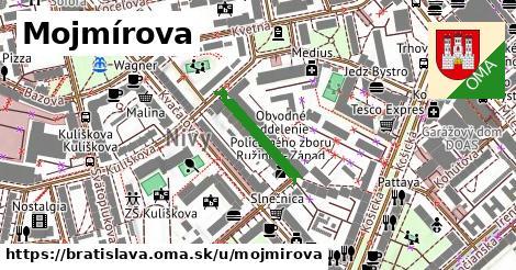 ilustračný obrázok k Mojmírova, Bratislava
