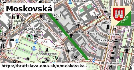 ilustrácia k Moskovská, Bratislava - 357m