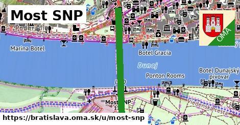 ilustrácia k Most SNP, Bratislava - 1,38km