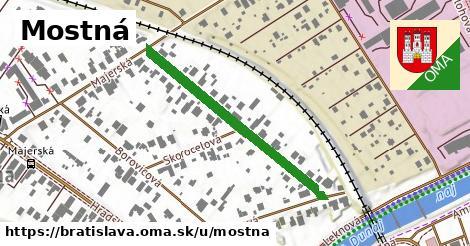 ilustrácia k Mostná, Bratislava - 378m