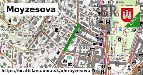 ilustrácia k Moyzesova, Bratislava - 163m