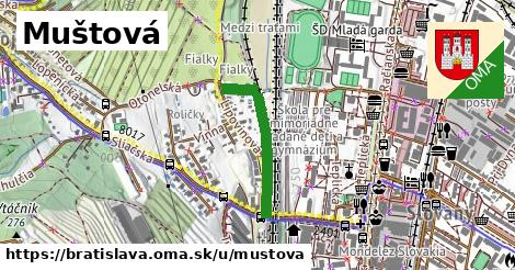 ilustrácia k Muštová, Bratislava - 469m