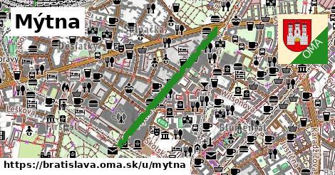 ilustrácia k Mýtna, Bratislava - 677m