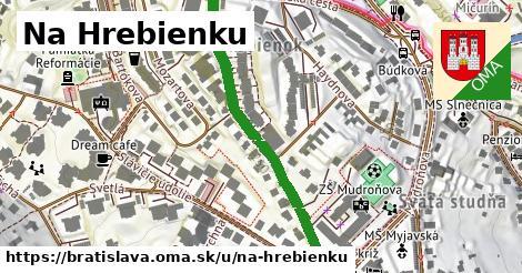ilustrácia k Na Hrebienku, Bratislava - 448m