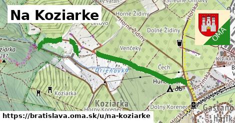 ilustračný obrázok k Na Koziarke, Bratislava