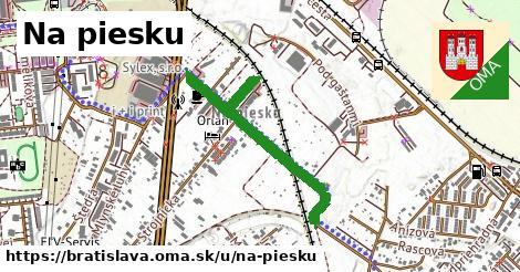 ilustrácia k Na piesku, Bratislava - 625m
