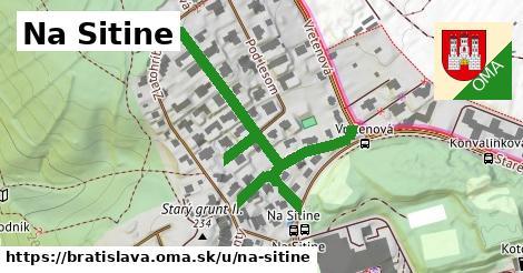 ilustrácia k Na Sitine, Bratislava - 597m