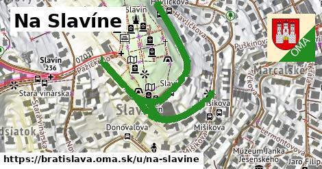 ilustrácia k Na Slavíne, Bratislava - 0,72km