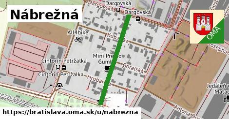 ilustrácia k Nábrežná, Bratislava - 312m