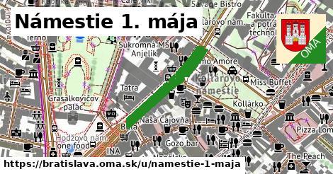 ilustrácia k Námestie 1. mája, Bratislava - 506m