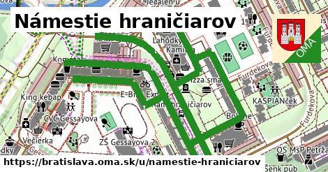 ilustrácia k Námestie hraničiarov, Bratislava - 1,50km