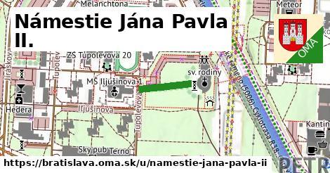ilustrácia k Námestie Jána Pavla II., Bratislava - 134m