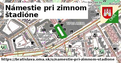 ilustrácia k Námestie pri zimnom štadióne, Bratislava - 227m