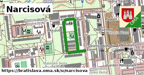 ilustračný obrázok k Narcisová, Bratislava
