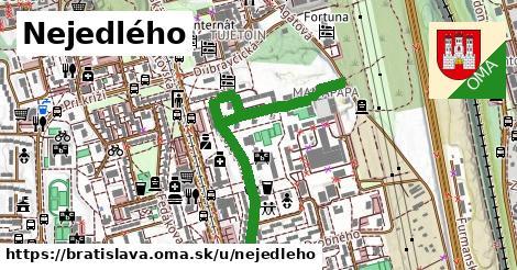 ilustračný obrázok k Nejedlého, Bratislava