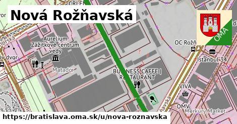 ilustračný obrázok k Nová Rožňavská, Bratislava