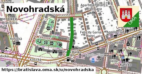 ilustrácia k Novohradská, Bratislava - 210m