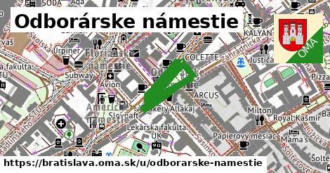 ilustračný obrázok k Odborárske námestie, Bratislava