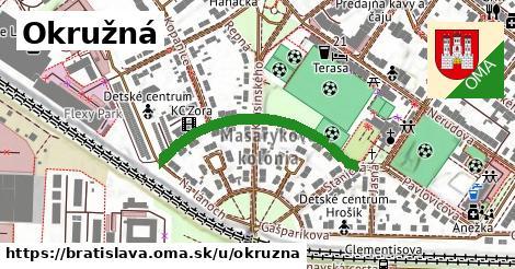 ilustrácia k Okružná, Bratislava - 328m