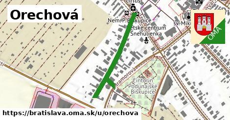 ilustrácia k Orechová, Bratislava - 348m