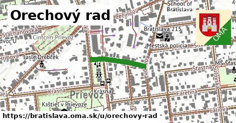 ilustrácia k Orechový rad, Bratislava - 179m