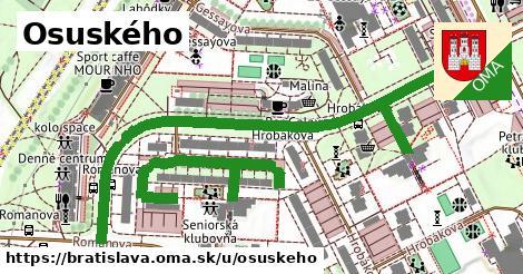 ilustračný obrázok k Osuského, Bratislava