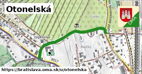 ilustrácia k Otonelská, Bratislava - 447m