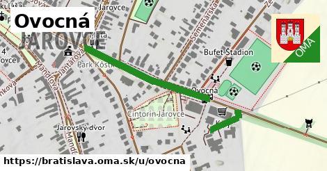 ilustrácia k Ovocná, Bratislava - 313m